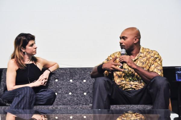 Travessias 2- Segundo encontro aconteceu neste sábado dia 11/05/13 com a presença da cantora Fernada Abreu, o rapper Mvbill, o artista e expositor do Travessias Carlos Vergara e Ricardo Henriques, pesquisador especializado em Economia Social.